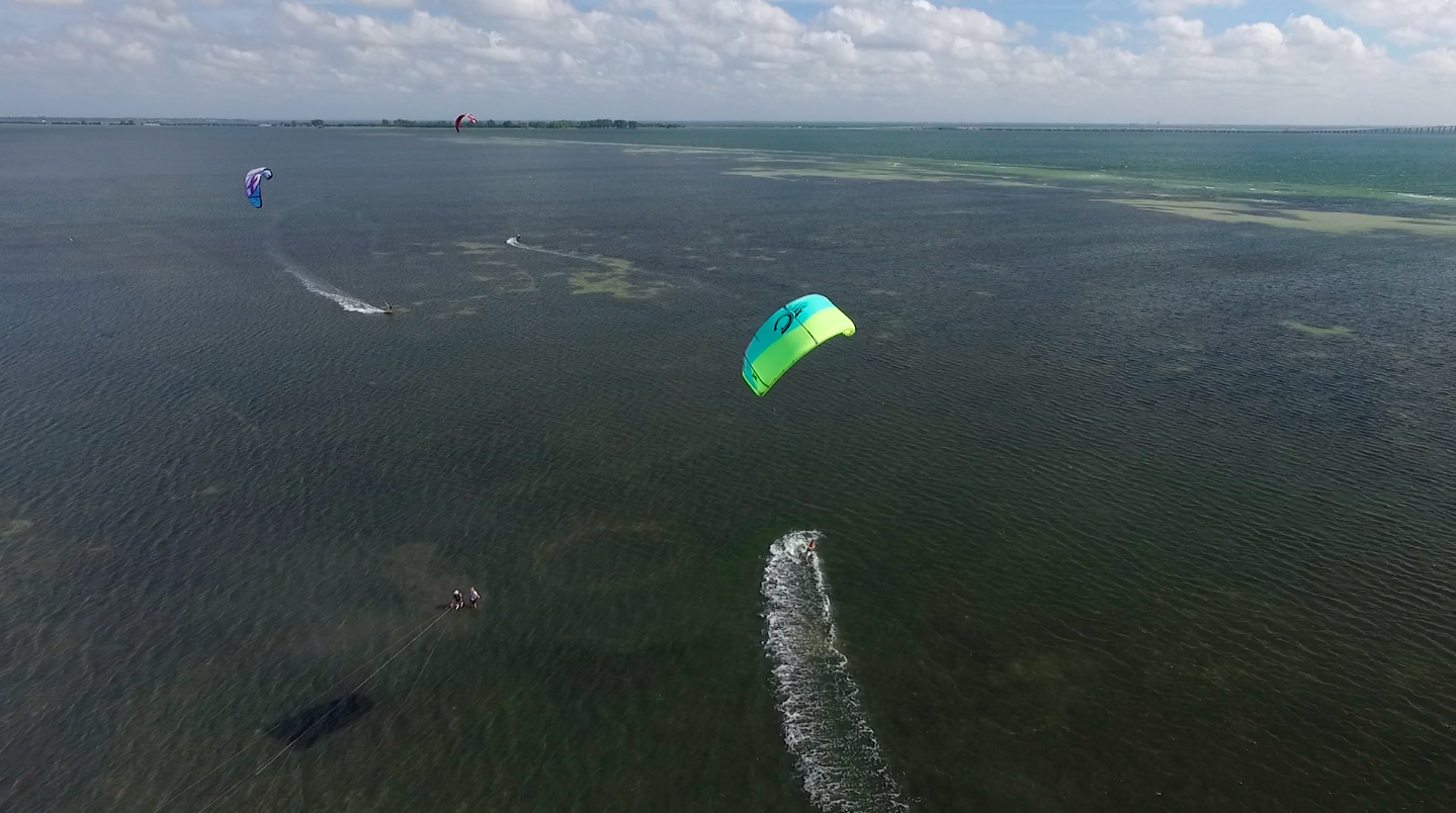 Drone Kiteboarding Video