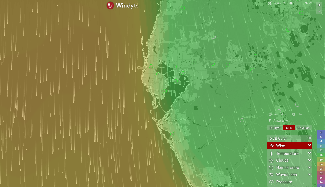 Wind Patterns: North Winds