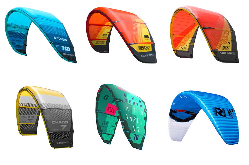Types Of Kiteboarding Kites