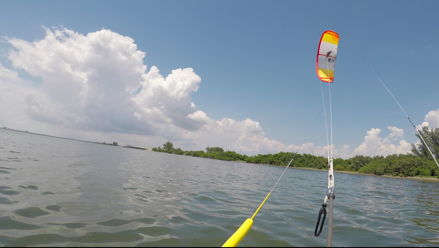 Lightwind Kiteboarding: Foilboarding in 7mph
