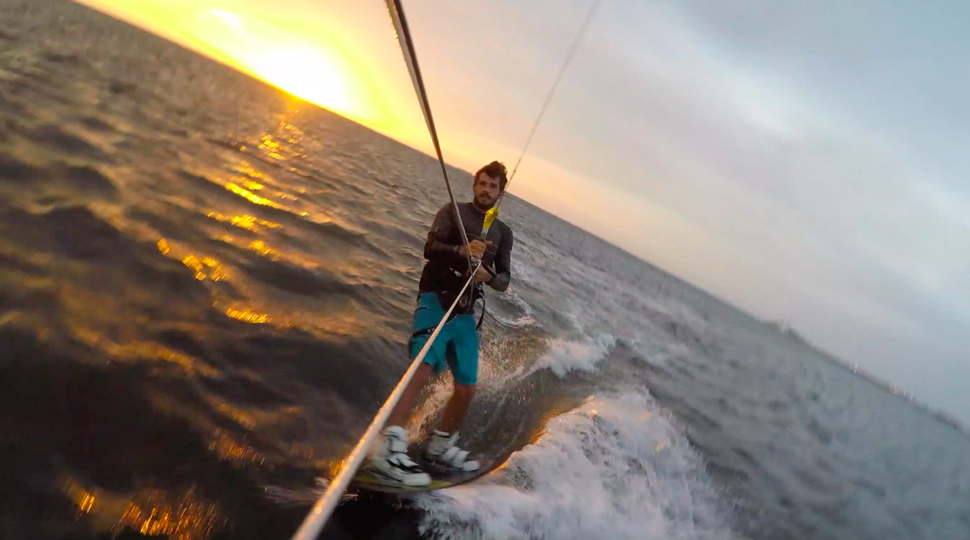 Reasons to Learn Kiteboarding: Exercise