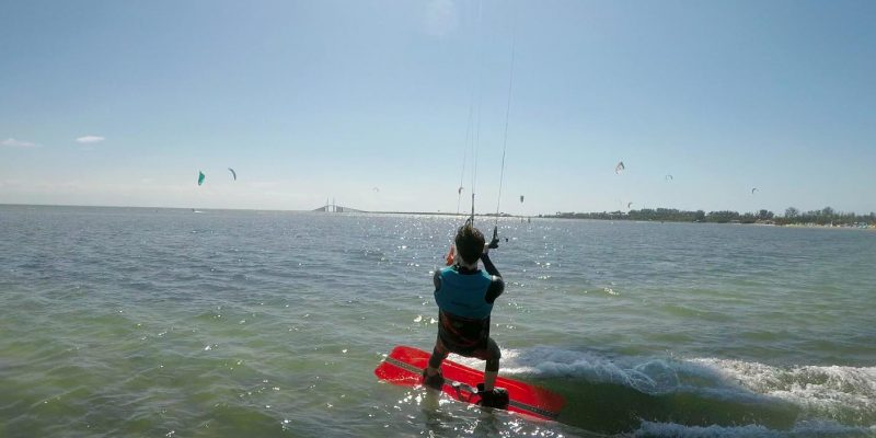 Learning How To Kiteboard