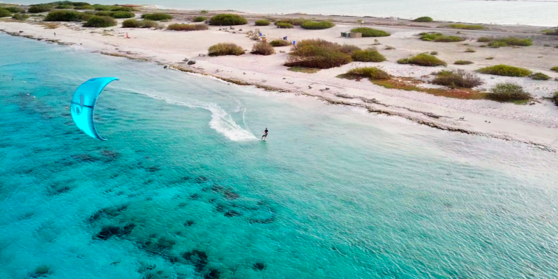 Kiteboarding in Bonaire