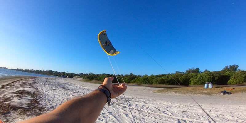 How To Self Land A Kiteboarding Kite