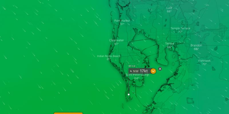 Wind Forecast: 2/1-2/2
