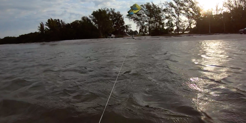 How to Self Land a Kite in Strong Winds